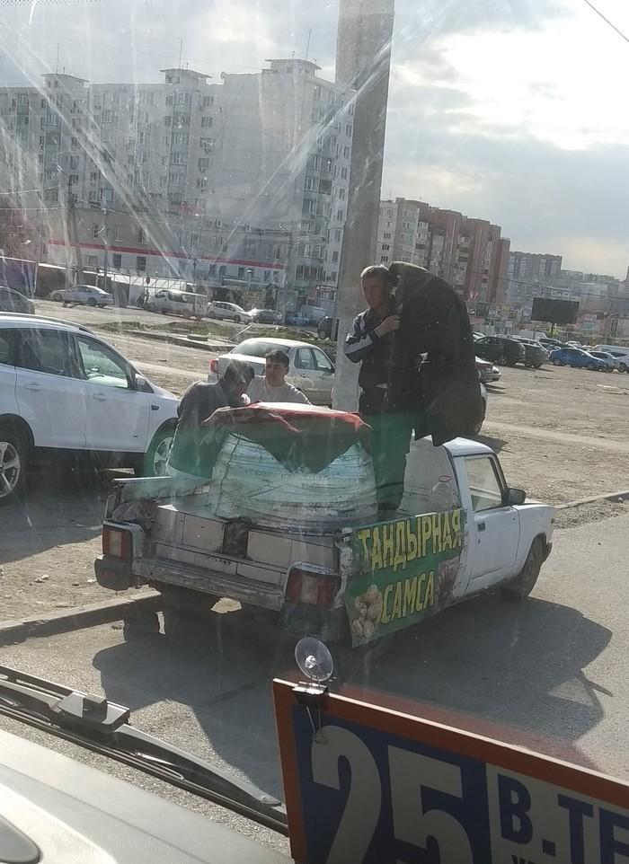 Тандыр на колёсах Тандыр, Узбекская кухня
