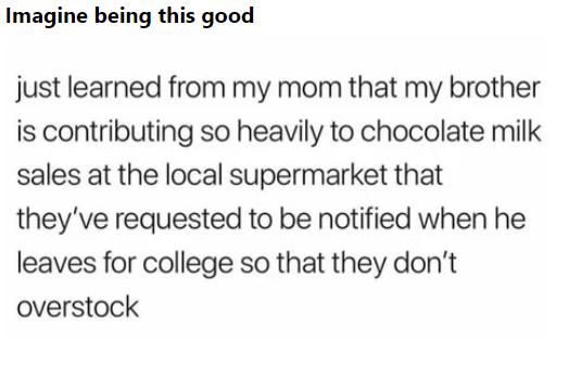 Покупатель года 9GAG, Перевод, Шоколадное молоко, Покупка, Брат