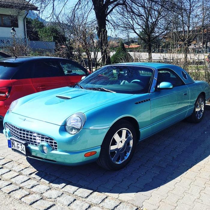 Ford Thunderbird Форд, Thunderbird, Авто, Машина