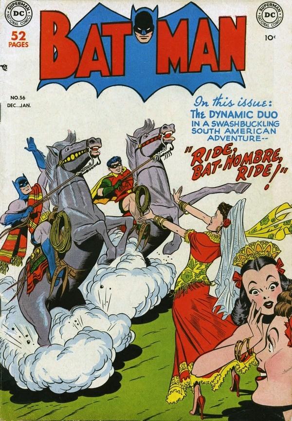 Погружаемся в комиксы: Batman #56-65 Супергерои, DC Comics, Бэтмен, Комиксы-Канон, Длиннопост