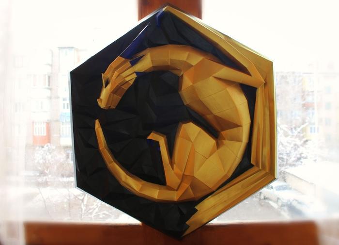 Немного работ Papercraft, Рукоделие без процесса, Своими руками, Длиннопост