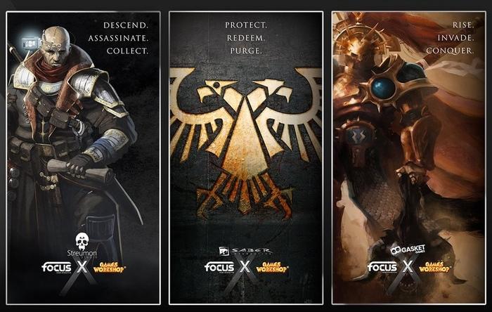 Анонсы от Focus Home Interactive Warhammer 40k, Warhammer: Age of Sigmar, Focus Home Interactive, Wh News