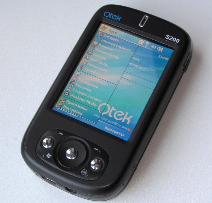 Популярный коммуникатор из эпохи Windows Mobile QTEK S200 Карманный Компьютер, Кпк, Windows Mobile, Qtek, Htc, Длиннопост