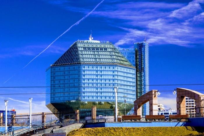 Национальная библиотека, Минск.