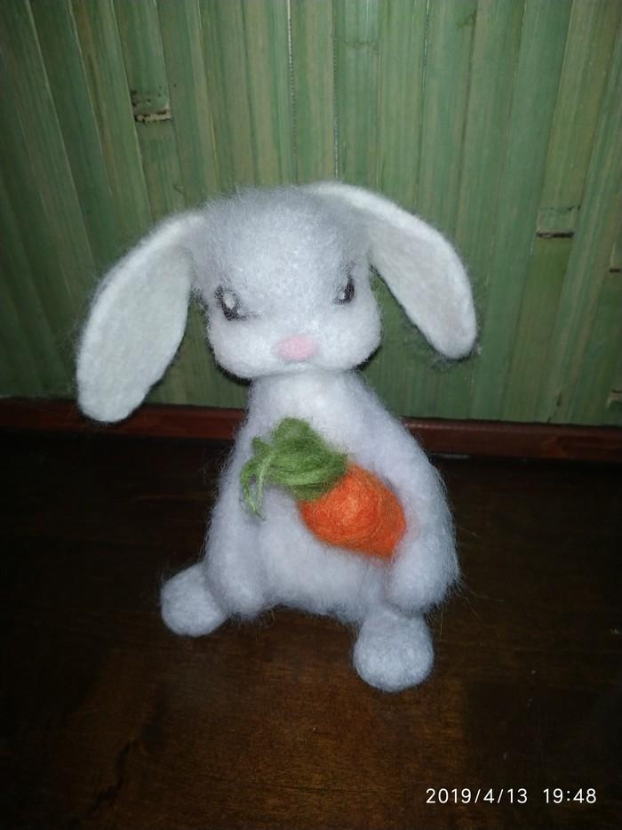 Заяц) Ручная работа, Авторская игрушка, Длиннопост