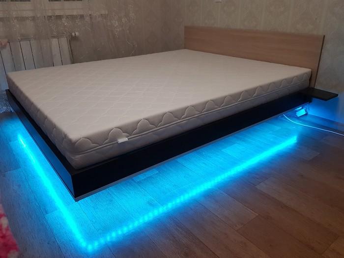 """Как я сделал """"парящую"""" кровать) Своими руками, Кровать, Парящая кровать, Длиннопост"""