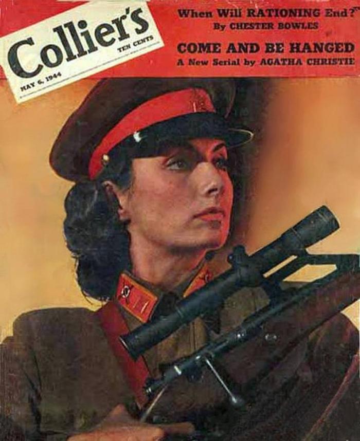 Снайпер дипломат Вторая мировая война, Подвиг, Снайперы, Дипломатия, Длиннопост
