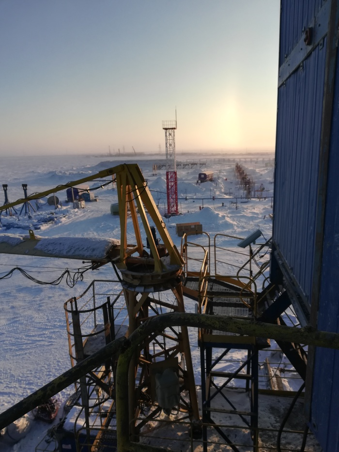 Пост о моей работе и не только. Нефть, Газ, Буровая, Север, Вахта, Работа, Длиннопост