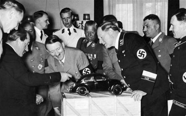 Гитлер и жук Адольф Гитлер, Фольксваген жук, История