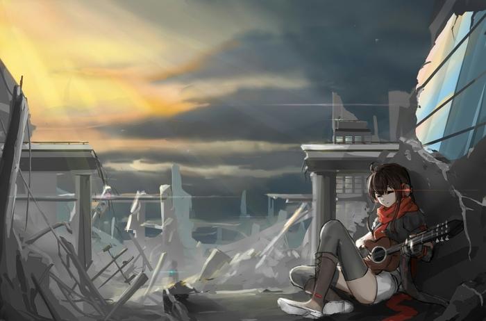 Песня в руинах