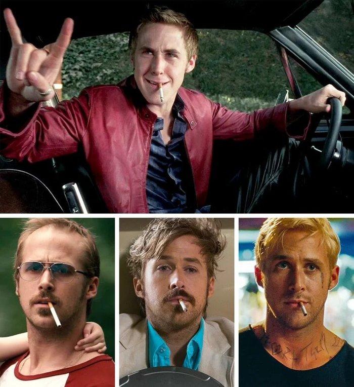 Фишки некоторых актёров, которые они повторяют из фильма в фильм Длиннопост, Актеры, Привычка, Никто не заметил, Знаменитости, Скриншот, Гифка