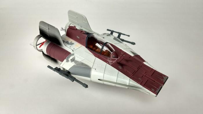 A-Wing истребитель на Д/У мечта детства! Star Wars, x-Wing, Своими руками, Гифка, Видео, Длиннопост