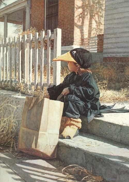 Акварели от  Steve Hanks Арт, Рисунок, Реализм, Акварель, Подборка, Длиннопост
