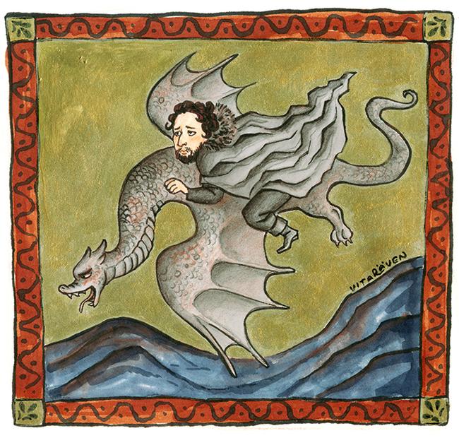 Джон Сноу летит на драконе Игра престолов, Джон Сноу, Дракон, Арт, Иллюстрации, Юмор, Страдающее средневековье