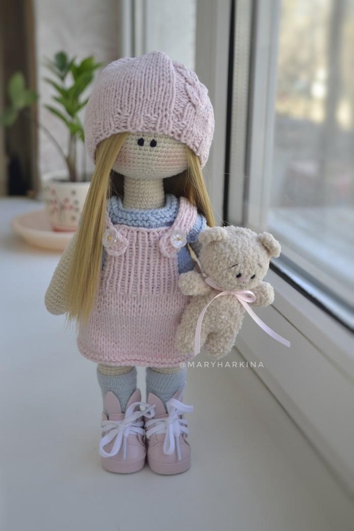 Мой hand made Вязание крючком, Вязаные игрушки, Кукла, Мишки, Ручная работа, Длиннопост