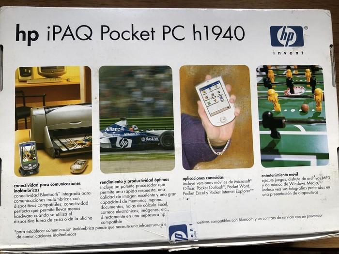 Винтажный HP iPaq h1940 «из коробки». На что годится КПК из 2000-х Барахолка, Кпк, Ipaq, Винтажная техник, Обзор, Старые гаджеты, Видео, Длиннопост