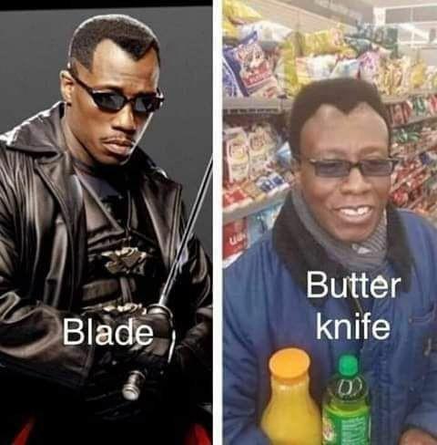 Blade курильщика Блэйд 1, Reddit, Здорового человека курильщика