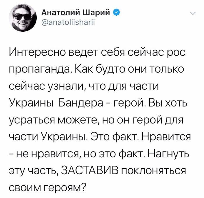 Покажите мне бандеровца! Украина, Шарий, Политика, Бандера