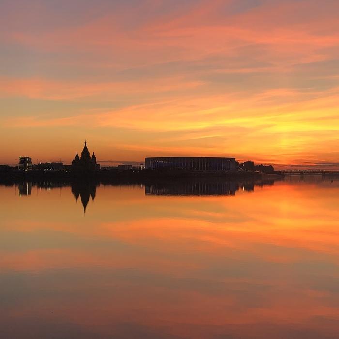 Нижний Новгород, сейчас Фотография, Нижний Новгород, Фото на тапок, Весна, Природа