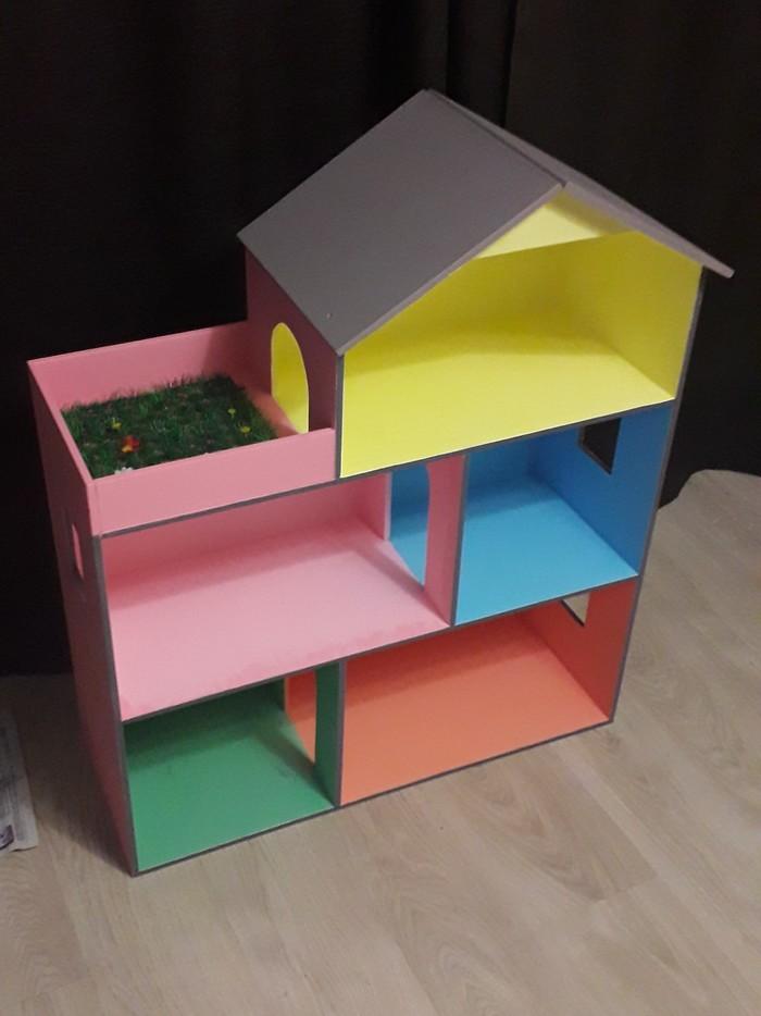 Домик для кукол Кукольный дом, Своими руками, Радость ребенка, Работа с деревом, Длиннопост