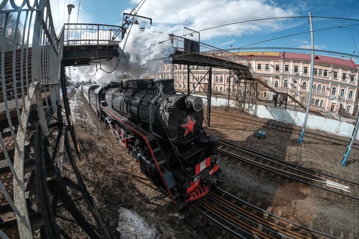 Экскурсионный паровоз. Паровоз, Пермь, Железная дорога