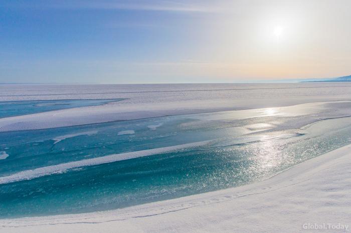 Апрель на Байкале Байкал, Иркутск, Природа, Фотография, Длиннопост