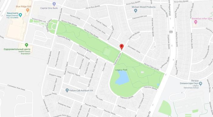 Интересное на Google Maps Google Maps, Градостроительство, Парк