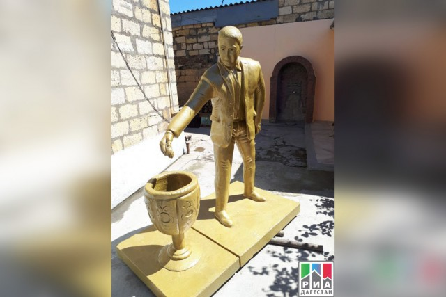 В Дагестане решили установить памятник человеку, донесшему мусор до урны Новости, Россия, Дагестан, Урны, Памятник