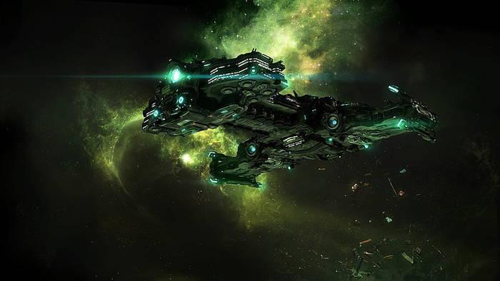 Пачка Гиперионов вам в ленту Starcraft, Starcraft 2, Космический корабль, Терраны, Гиперион, Компьютерные игры, Арт, Космос