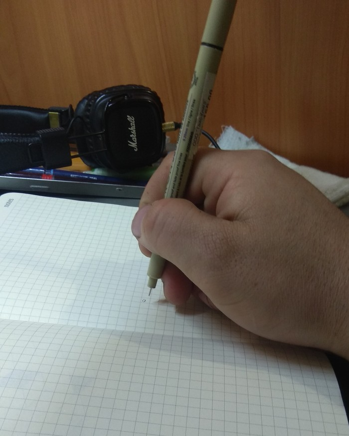 Подобие гайда по тыканью ручкой. Часть 2. Рапидограф, Линер, Гайд, Рисунок, Длиннопост, Рисование, Графика, Dotwork, Обучение