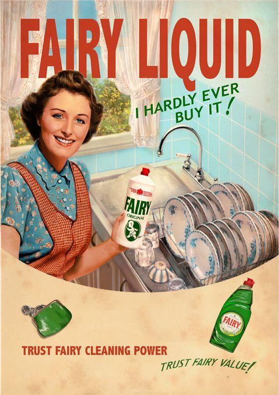 Какая была реклама бренда Fairy 50 лет назад? И кем они были? Реклама, Креативная реклама, Бренды, Fairy, Видео, Длиннопост