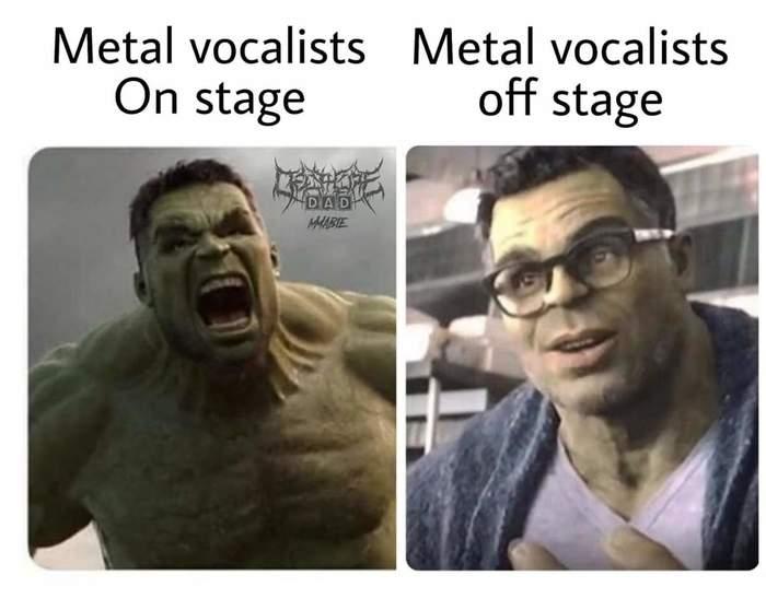 Рок-вокалисты на сцене и в жизни