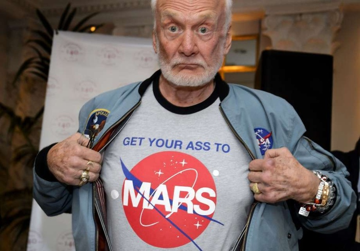 Новая миссияОлдрина Базз Олдрин, Марс, Космос, NASA