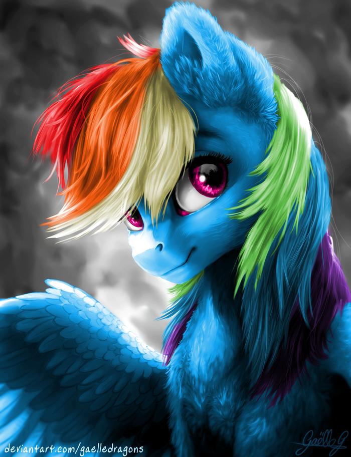 Rainbow My Little Pony, Rainbow Dash, Gaelledragons, Пушист, Пушисти, Пушистый, Пушистая проблема