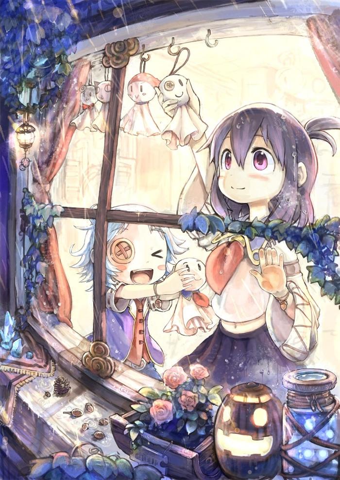 Оберег Anime Art, Аниме, Anime Original, Teruterubouzu