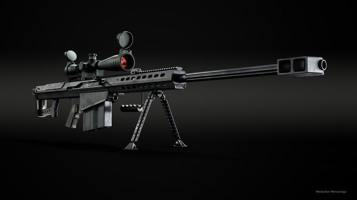 Пять лучших крупнокалиберных снайперских винтовок мира Винтовка, Оружие, Длиннопост