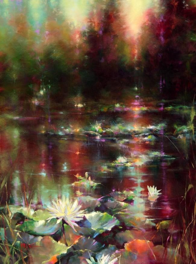 Художница Donna Young Арт, Картина маслом, Пейзаж, Подборка, Длиннопост