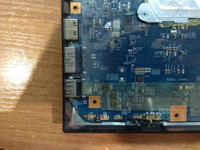 Lenovo B570e нет подсветки матрицы. Ремонт ноутбуков, Lenovo, Предохранитель, Тольятти, Матрица, Датчик Холла, Длиннопост