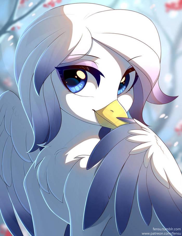 Роуанберри My Little Pony, Original Character, Грифон, Ponyart, Fensu-San