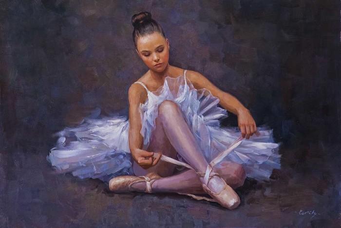Маленькая балерина Картина, Балерины, Балет, Живопись, Искусство, Декор