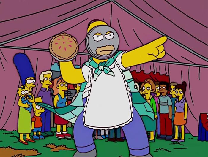 Симпсоны на каждый день [13_Мая] Симпсоны, Каждый день, Пирог, Длиннопост