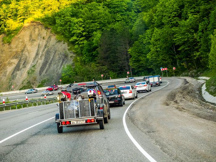 Дорога Джубга-Сочи в мае Джубга, Дорога, Сочи, Адлер, Абхазия, Длиннопост