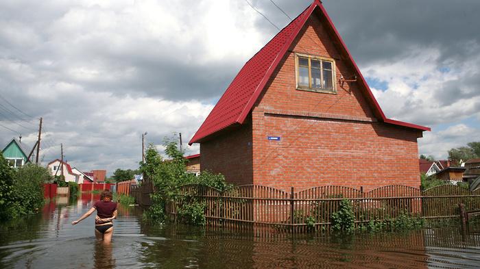 После дождя привычно затопило подмосковный Ногинск Ногинск, Ногинский район, Игорь Сухин, Наводнение, Длиннопост