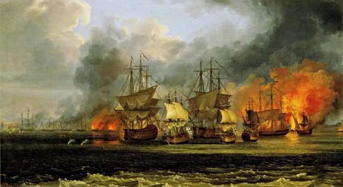 Патрасское сражение: забытая победа русского флота Длиннопост, История, Россия, Турция, Флот, Война