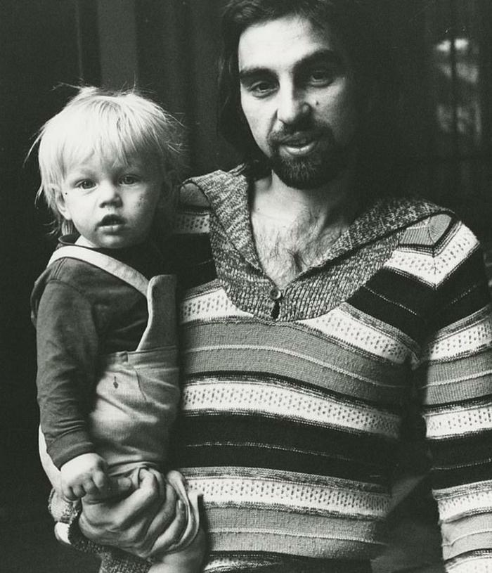 Лео с отцом! Леонардо Ди Каприо, Отец, Голливуд, Длиннопост