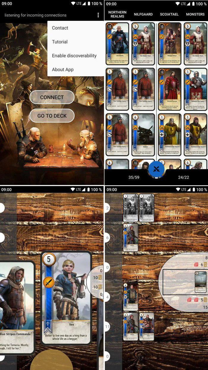 Gwent Unofficial Ведьмак 3, Приложение на android, Гвинт, Длиннопост