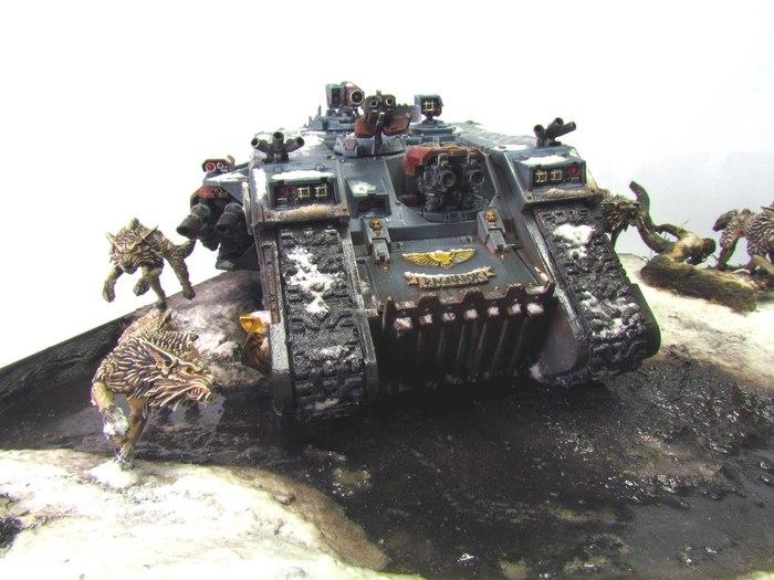 Прогулка с волками Warhammer 40k, Warhammer, Хобби, Покраска миниатюр, Миниатюра, Длиннопост