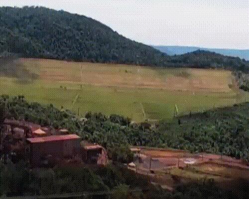 Прорыв дамбы в Бразилии