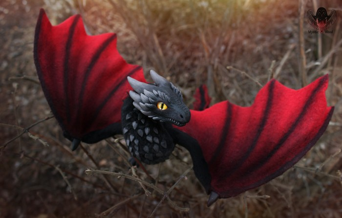 Drogon Дракон, Игра престолов, Полимерная глина, Ручная работа, Рукоделие без процесса, Дрогон, Длиннопост