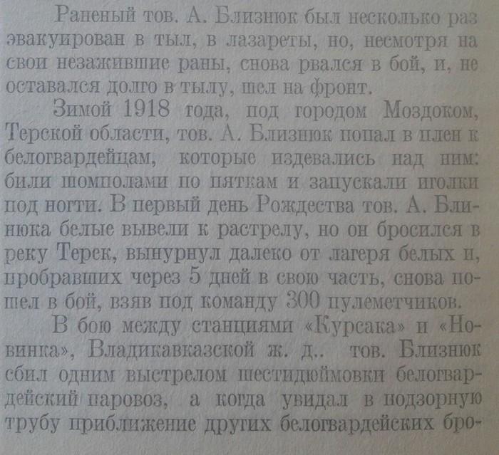 Неубиваемый Близнюк. Красная Армия, Антон Близнюк, Журнал, 1919, Длиннопост, История